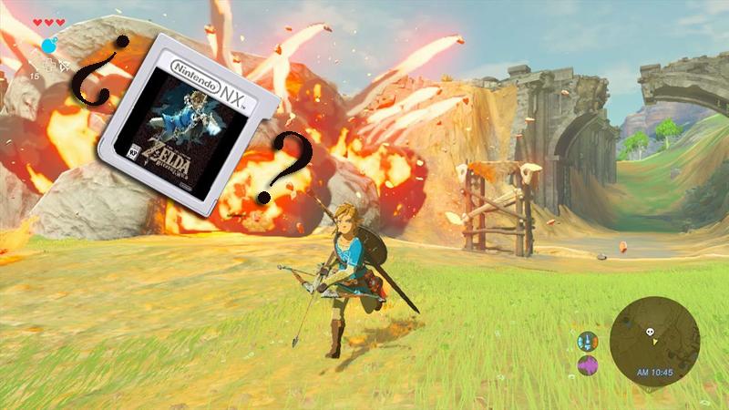 La marca registrada de Zelda Breath of the Wild vuelve a mencionar los cartuchos