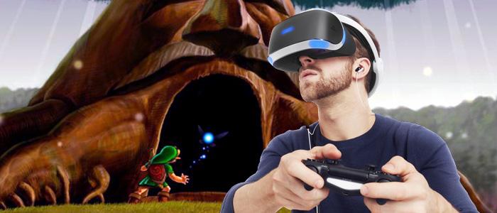 Productor Ejecutivo de PlayStation VR habla de Zelda