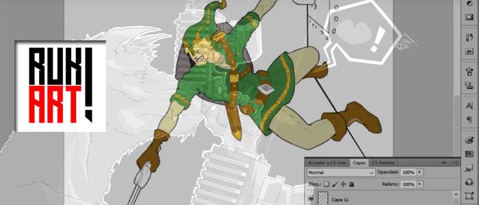 Speedpaint de Link por RukArt!
