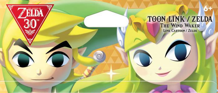 Pack amiibo doble Toon Link&Zelda solo para América