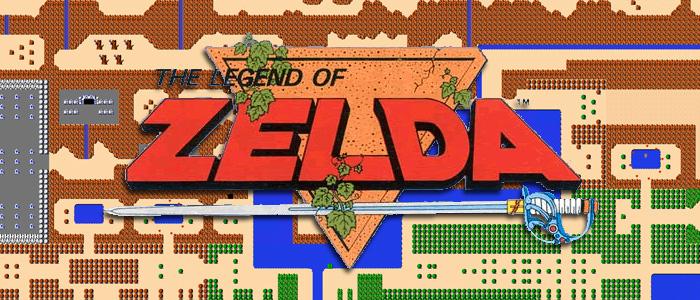 Mapa original de Zelda en el PAX West