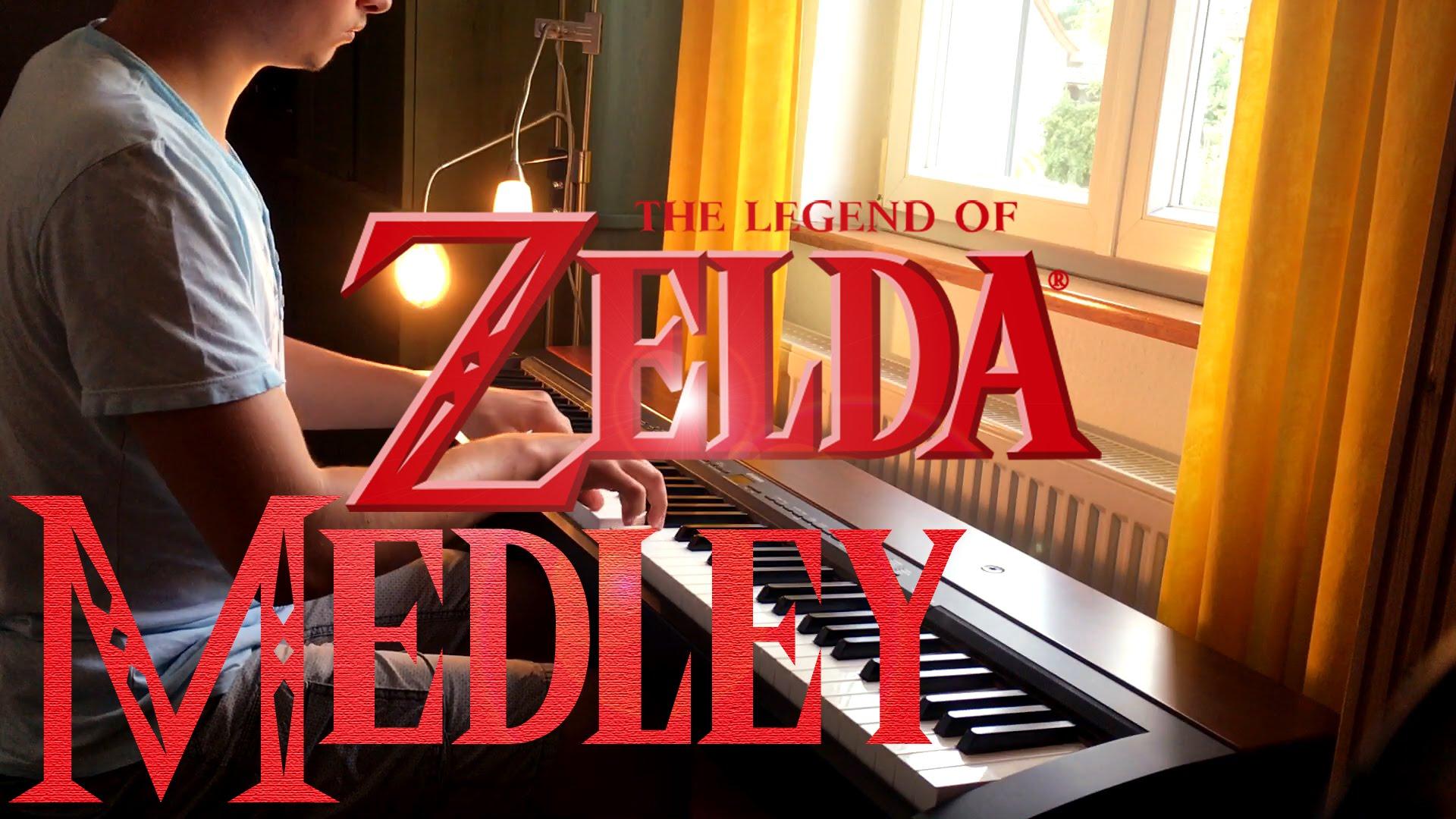 Precioso «Zelda Medley» de Ocarina of Time a piano