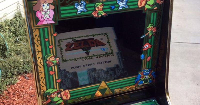 Máquina Arcade de Zelda