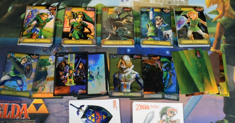 La colección completa de Trading Cards de Zelda