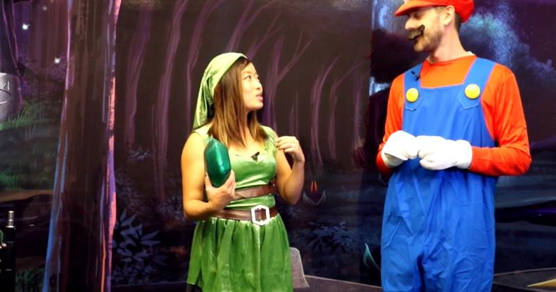 Disfraces de Zelda en Nintendo Minute