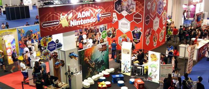 Nintendo y Zelda en la Barcelona Games World