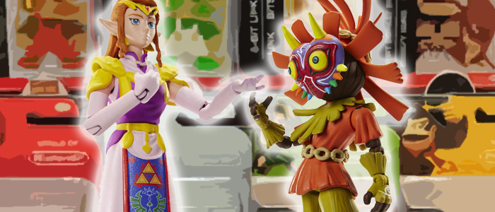 Nuevas figuras de World of Nintendo: Zelda y Skull Kid