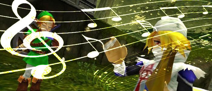 Música de Zelda con sintetizador