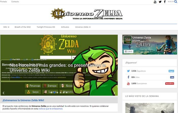 Universo Zelda cambia de aspecto: estrenamos nuevo diseño