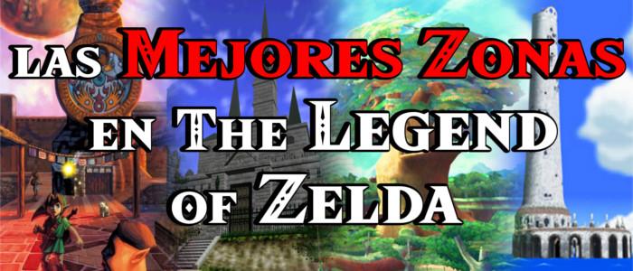 Las Mejores Zonas en The Legend of Zelda (Vídeo)