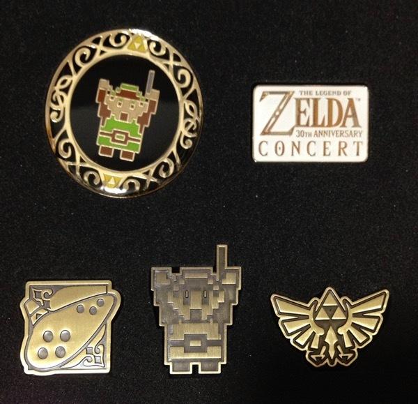Merchandising del Concierto del 30º Aniversario de Zelda