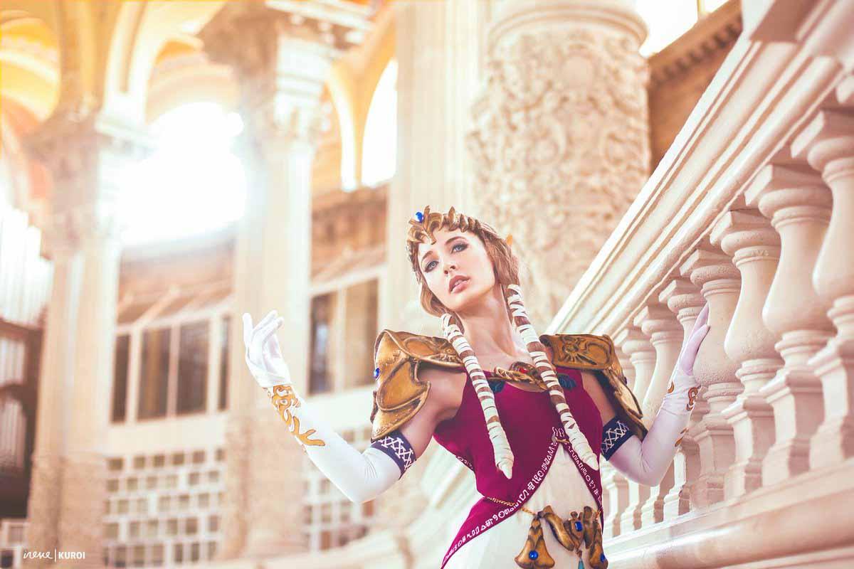 Increíble cosplay de la princesa Zelda