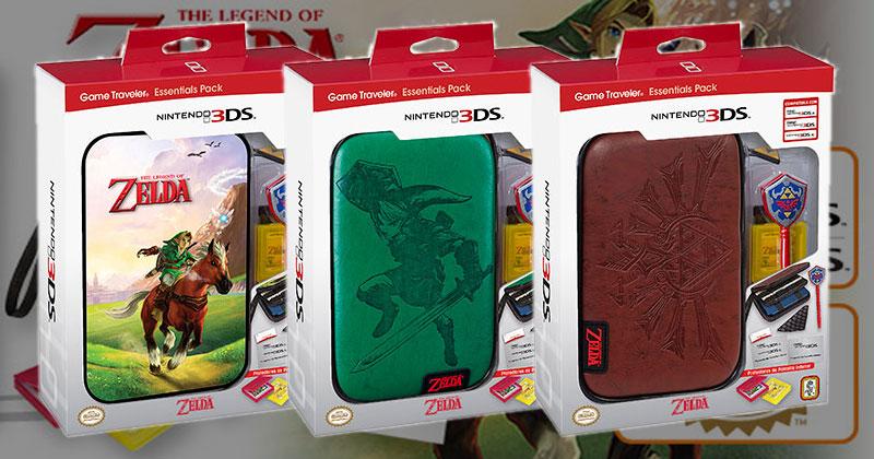 Fundas para 3DS XL de Zelda