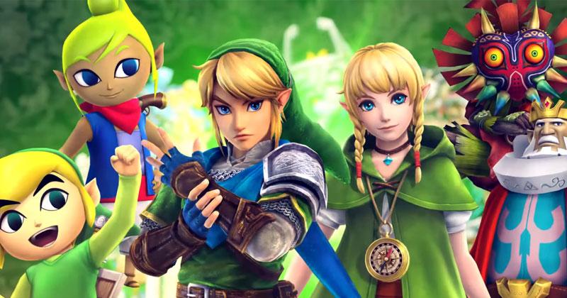 Nuevas versiones de Hyrule Warriors & Hyrule Warriors Legends