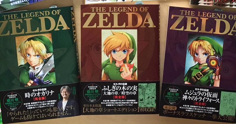 Nuevos manga de Zelda en español