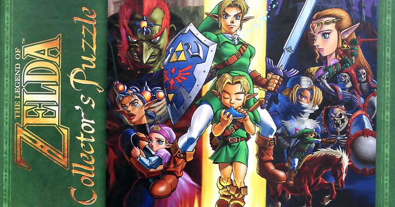 Puzzle de Ocarina of Time exclusivo de Hot Topic