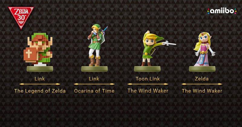 Unboxing de los amiibo del 30 aniversario de Zelda
