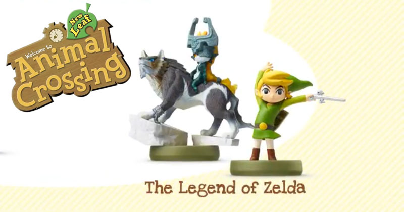 Zelda en Animal Crossing New Leaf