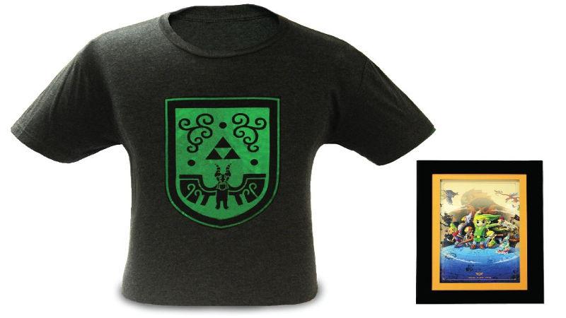 Nueva camiseta exclusiva de Zelda en Nintendo NYC Store