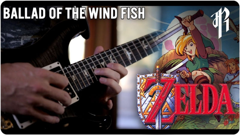 "Cover metalero de ""Ballad of the Wind Fish"" de Link's Awakening"