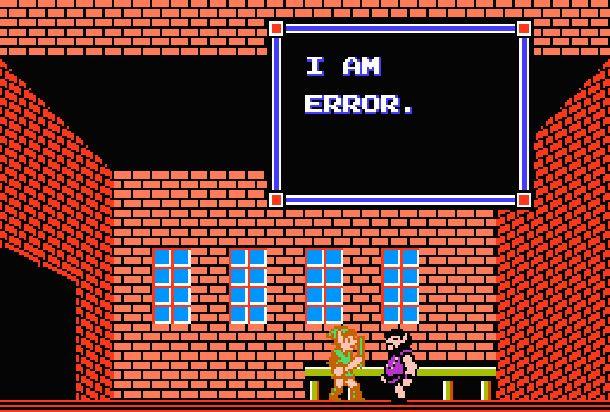 """Pin de """"I am Error"""" de Zelda II a la venta"""