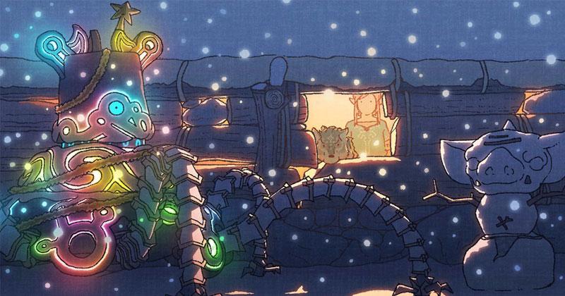 The Legend of Zelda nos desea Feliz Navidad