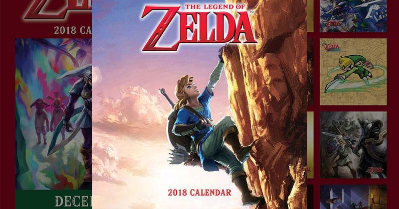 Calendario Zelda 2018