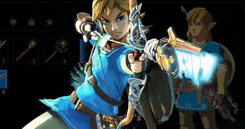 7 curiosidades de la ropa azul de Link en Breath of the Wild