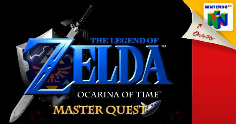 Ocarina of Time: Master Quest en cartucho de Nintendo 64