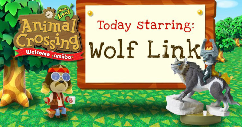 Wolf Link en Animal Crossing New Leaf