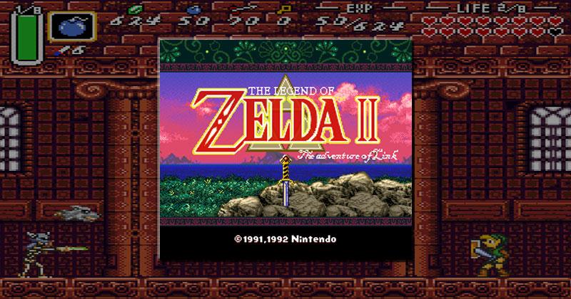 ¿Cómo sería Zelda II en 16 bits?