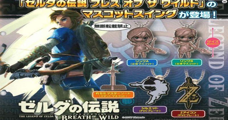 Reserva estos colgantes de The Legend of Zelda: Breath of the Wild