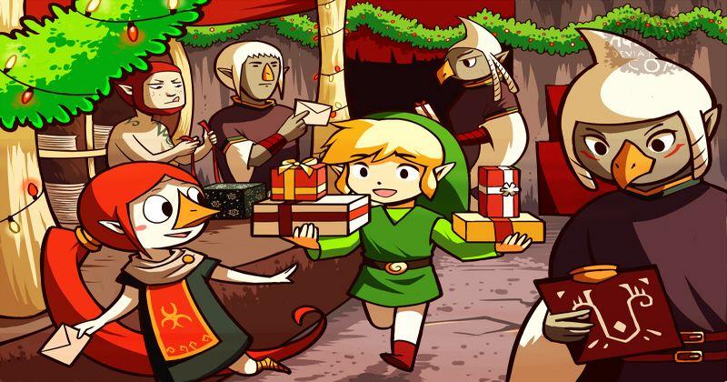 Universo Zelda os desea una Feliz Navidad