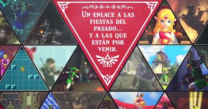 Nintendo nos desea Felices Fiestas con The Legend of Zelda