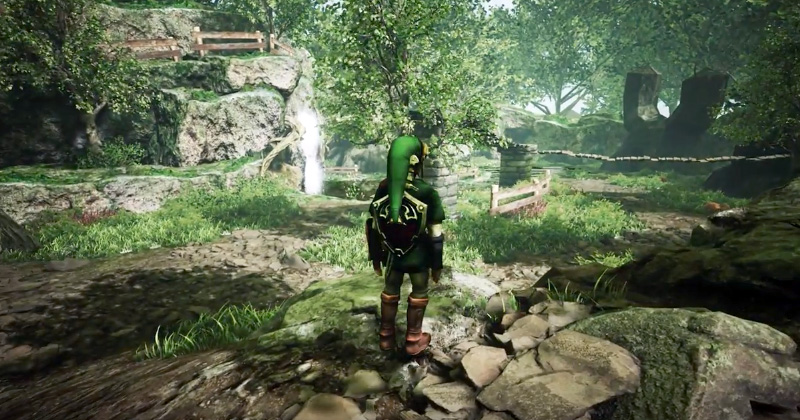 Más Ocarina of Time en Unreal Engine 4