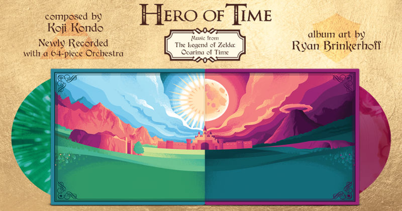 Hero of Time: el nuevo álbum en vinilo de Ocarina of Time orquestado
