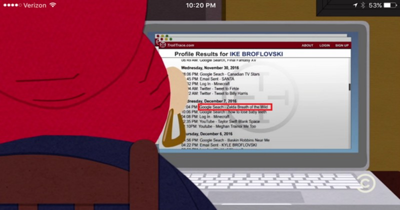 ¡Breath of the Wild se cuela en un episodio de South Park!