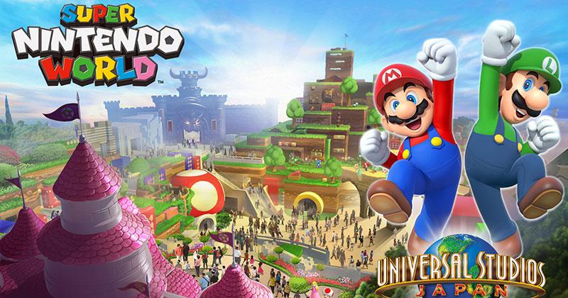 Super Nintendo World en Japón
