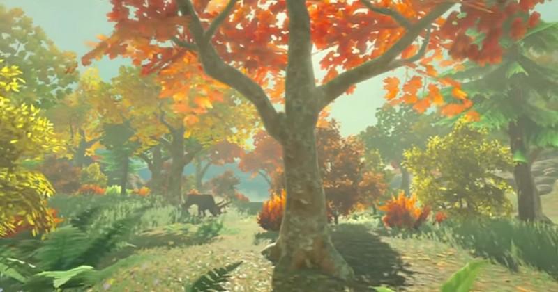 Cuando Miyamoto probó por primera vez Breath of the Wild no dejaba de trepar árboles