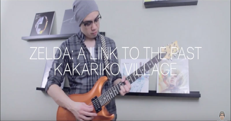 ¡Excelente interpretación de Kakariko Village – A Link To the Past!