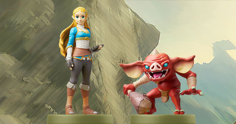 Nuevos amiibo de Breath of the Wild