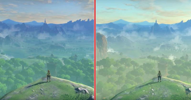 Breath of the Wild: Nintendo explica las diferencias entre Switch y Wii U