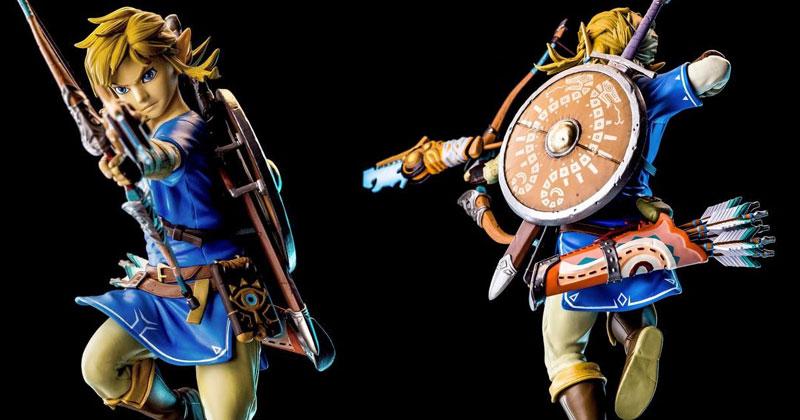 First 4 Figures habla de la nueva figura de Link de Breath of the Wild
