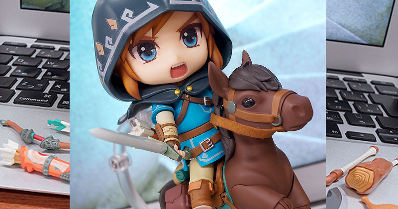 Link Nendoroid de Breath of the Wild
