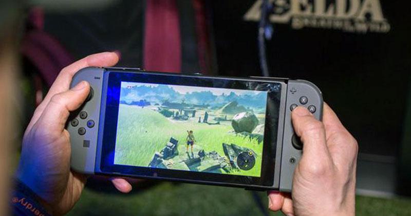 Los controles de Breath of the Wild en Nintendo Switch