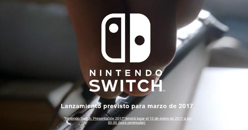 Sigue desde aquí en directo la presentación de Switch