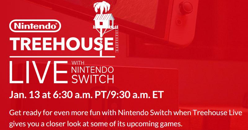 Nintendo Switch en TreeHouse Live