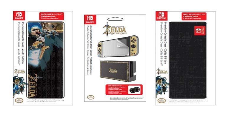 Nuevos accesorios de PDP para Nintendo Switch de Breath of the Wild