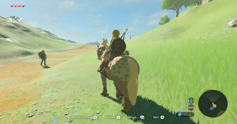 Demo de Breath of the Wild disponible en Nintendo NY
