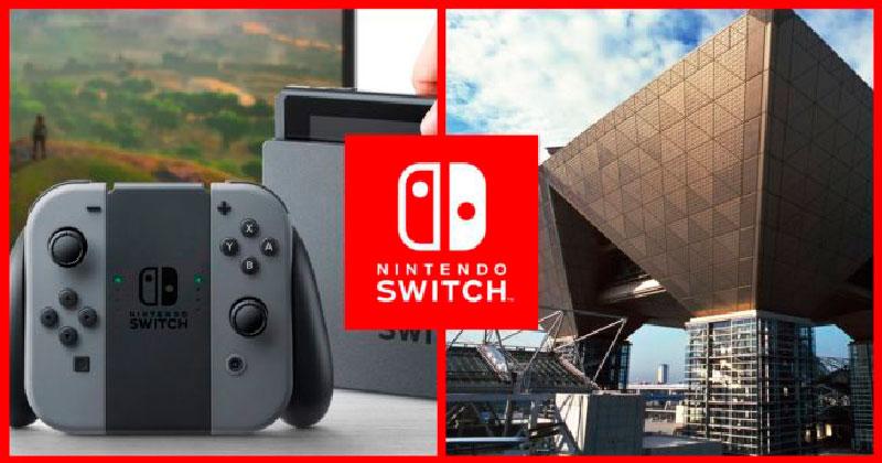 1er día de la Nintendo Switch experience 2017